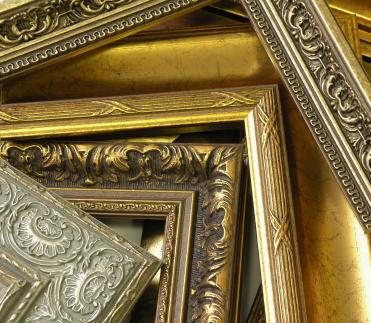 Bilderrahmen als Dekorationselement