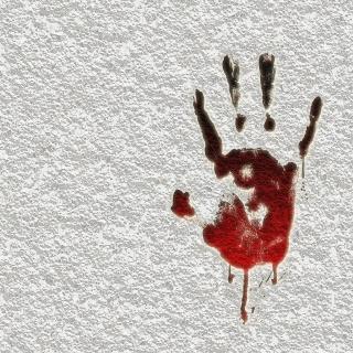 Blutflecken auf Krawatten, Seide oder Tapete entfernen