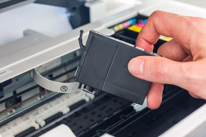 Druckertinte mit Hausmitteln entfernen