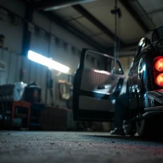 Einparkhilfe für die Garage