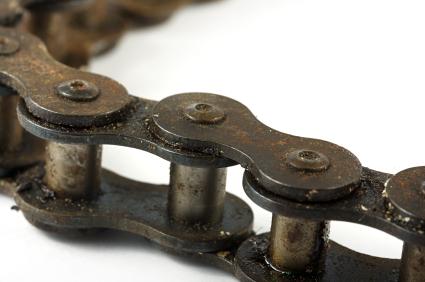 Fahrradschmiere / Fahrradöl / Kettenöl aus Kleidung entfernen