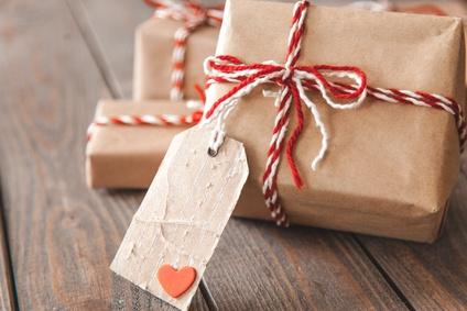 Großes Geschenk Verpacken