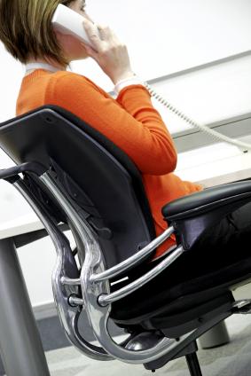 Gesund Sitzen mit ergonomischen Drehstuhl