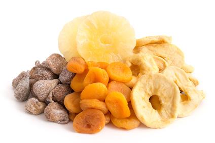 Gesunde Ernährung mit Dörrobst mit einem Sedona Dörrgerät