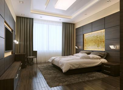 Ideen für Fenstervorhänge und Gardinen im Schlafzimmer