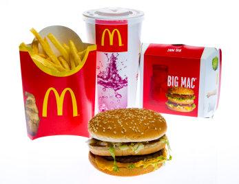 McDonalds Kalorienrechner