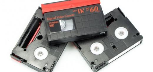Mini DV selbst digitalisieren