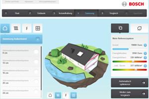 Mit dem Hauskonfigurator energieeffizient sanieren