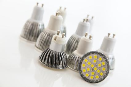 Mit LED Leuchtmitteln für Fassung GU10 Energie sparen