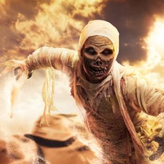 Mumien-Kostüm selber machen