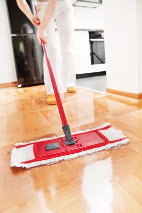 Beliebt Parkett reinigen und putzen (Parkettpflege) HF22