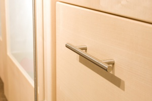 platzsparende einrichtung mit einbauschr nken. Black Bedroom Furniture Sets. Home Design Ideas