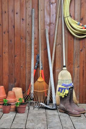 Tipps und Tricks um das Gartenhaus zu entrümpeln