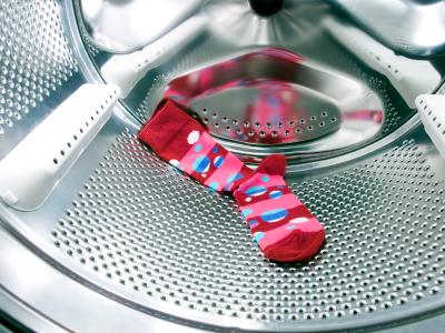 Wohin verschwinden die Socken in der Waschmaschine